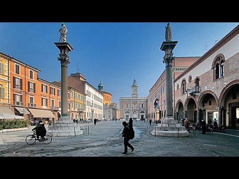 Ravenna (Italy) from bus