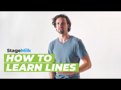 How to Learn Lines | An Actor's Guide to Learning Lines