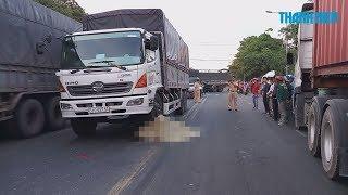 Nữ công nhân c.h.ế.t.t.h.ả.m dưới bánh xe tải