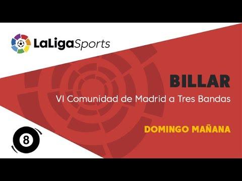 📺 VI Comunidad de Madrid billar a tres bandas - Domingo mañana