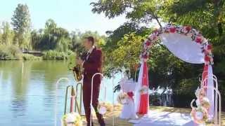 Саксофонист на свадьбу, на выездную церемонию саксофон на встречу гостей