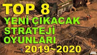 YENİ ÇIKACAK STRATEJİ OYUNLARI 2019/2020 (Şehir Kurma Oyunları, En İyi Strateji Oyunları, RTS)