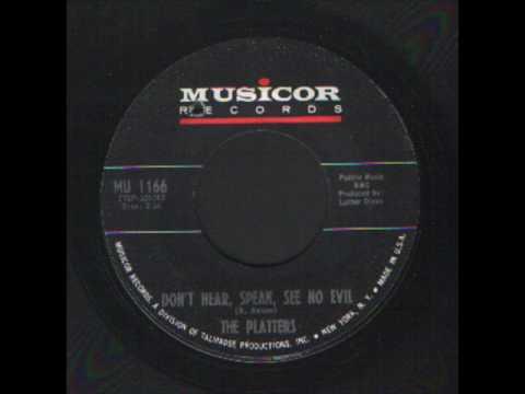The Platters - Don't Hear, Speak, See no evil - Popcorn Soul.wmv