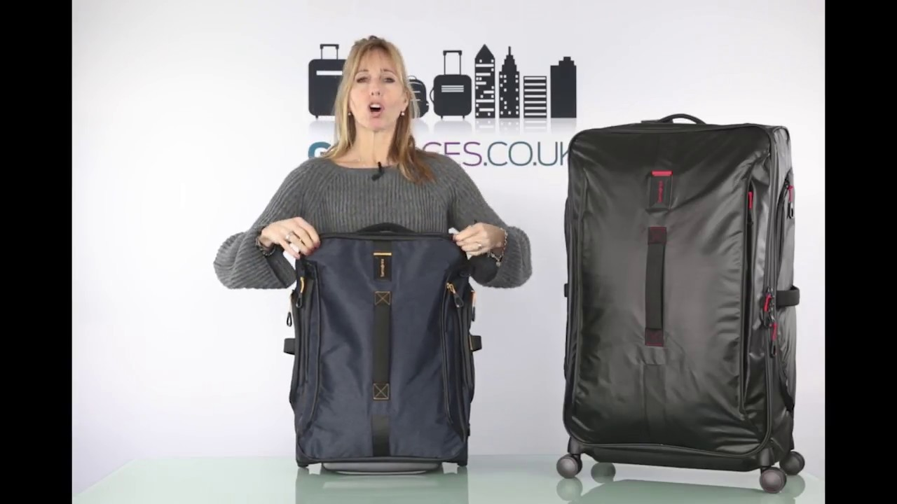 caa711cc98e5 Go Places review of the Samsonite Paradiver Light range - YouTube
