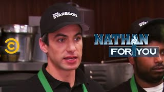 Nathan For You: Dumb Starbucks thumbnail