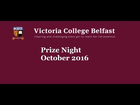 Victoria College Belfast Prize Night 2016