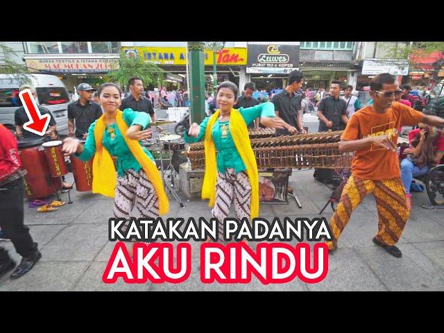 Gurih Bass Selonya..!! INI RINDU Farid Hardja - Angklung Carehal Jogja (Angklung Malioboro)
