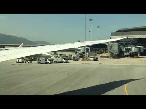 Japan Airlines B787-8 | Pushback, Taxi and Takeoff from Hong Kong