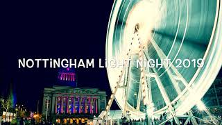 Nottingham Light Night 2019