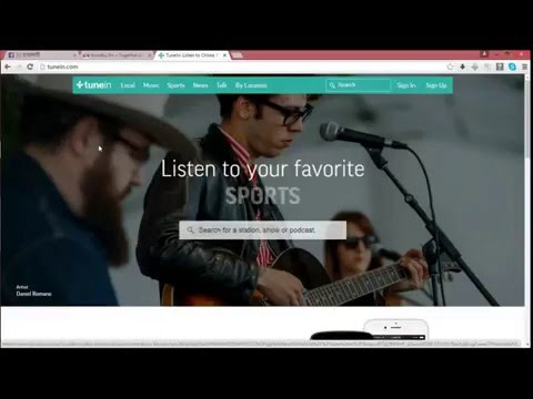 How change stream url on TuneIn / submit your radio station
