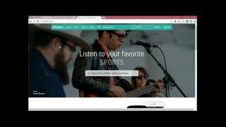 How change stream url on TuneIn / submit your radio station on TuneIn