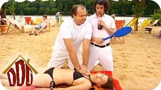 Reanimation am Strand