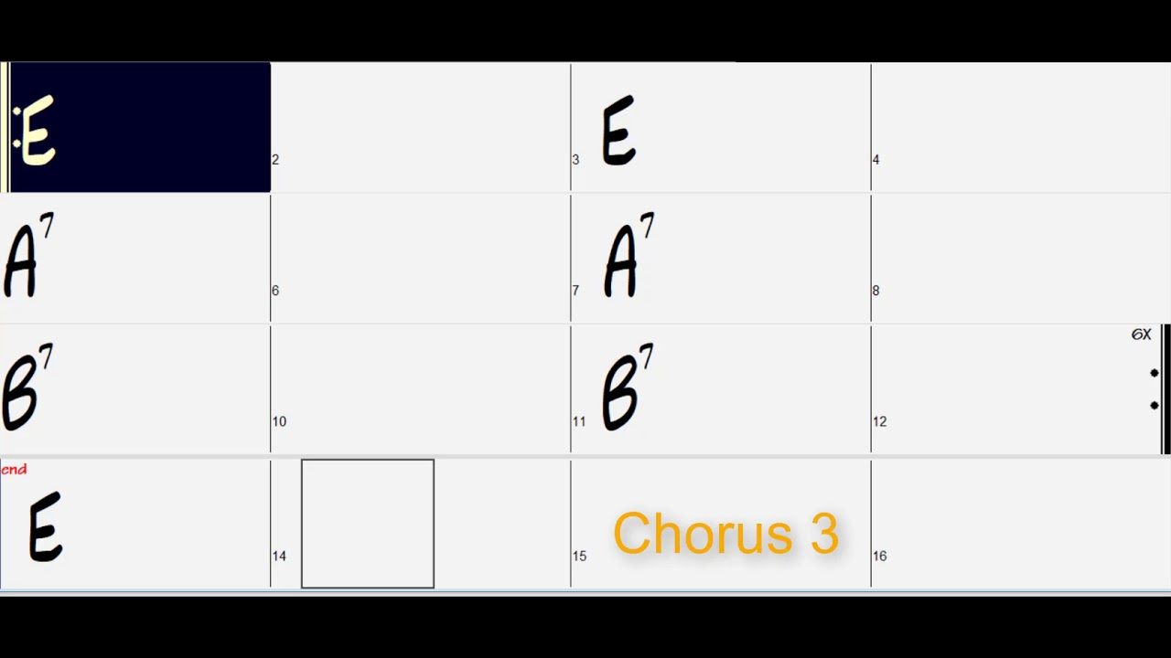 Punk Rock Jam In E Follow Chord Symbols 165 Bpm Youtube