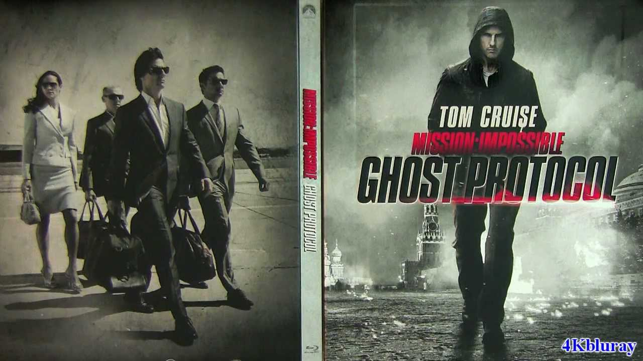 Mission Impossible STEELBOOK Ghost Protocol blu-ray unboxing review Import