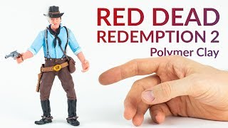 Arthur Morgan (Red Dead Redemption 2) – Polymer Clay Tutorial