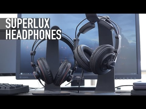 The Best Headphones Under $50: Superlux 681 & Superlux 668B