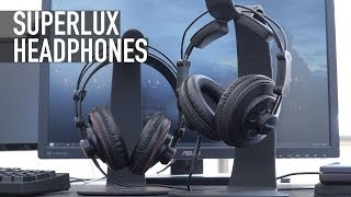 The Best Headphones Under $50: Superlux 681 & Superlux 668B