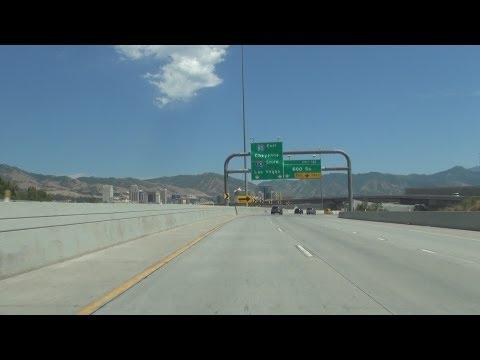 Interstate 80 in Salt Lake City, Utah