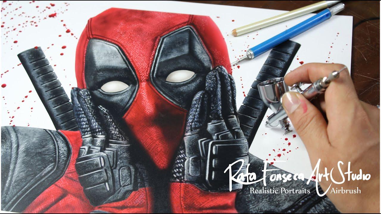 Airbrush Art of Deadpool