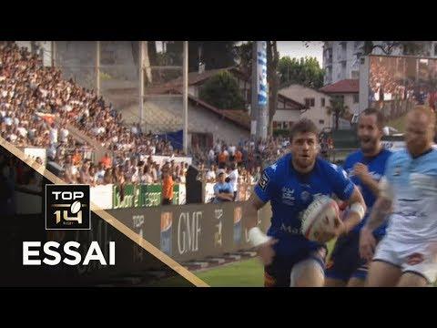 TOP 14 - Essai Julien CAMINATI (CO) - Bayonne - Castres - J4 - Saison 2019/2020