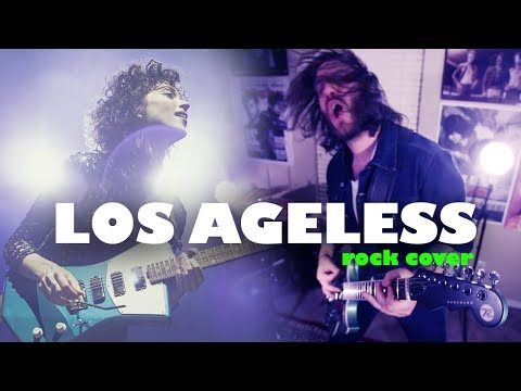Los Ageless - St. Vincent Rock Cover - Roughkast