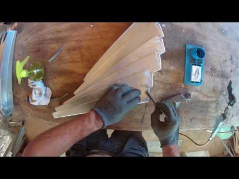 façonnage de couvres joints en zinc part.7