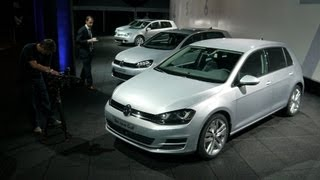 Volkswagen GOLF, from I to VII  exclusive video