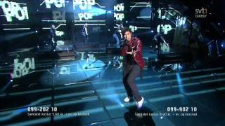 10. Eric Saade - Popular (Melodifestivalen 2011 Final) 720p HD