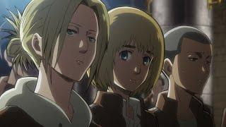 Armin tells Annie she is a kind person - Armin x Annie (AruAni Moment) English Dub