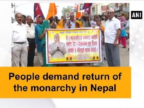 People demand return of the monarchy in Nepal - Nepal News