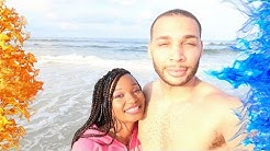 Jacksonville Beach Day 🏖| Day 1 | Jamilah and Marcel 🌴