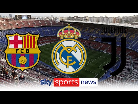 Barcelona, Real Madrid and Juventus under UEFA investigation for involvement in ESL