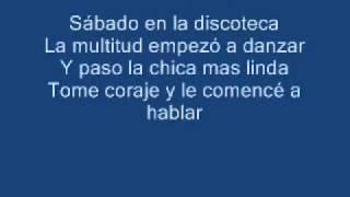 Ai Se Eu Te Pego Letra/Lyrics Español/Spanish