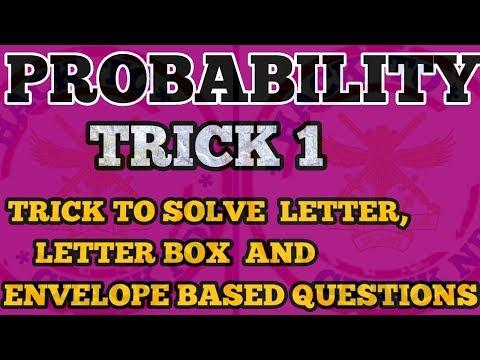 NDA MATHS TRICKS||CHAPTER WISE||PROBABILITY TRICKS ||FOR NDA|NDA,AIRFORCE,JEE NAVY,SSR,TRICKS|HINDI thumbnail