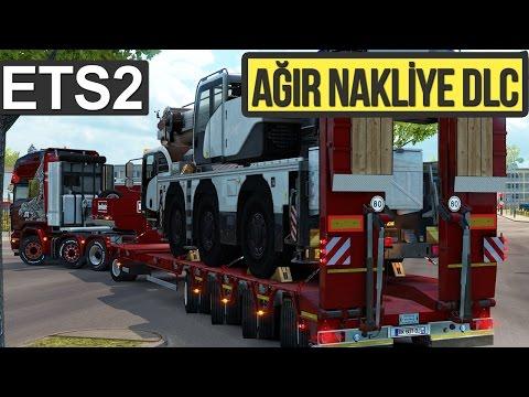 AĞIR AĞIR.. Euro Truck Simulator 2 - Heavy Cargo Pack DLC İncelemesi