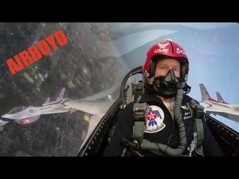 Lewis & Logan - Super Bowl Flyover As Seen From The USAF