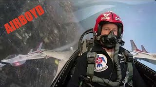 USAF Thunderbirds Super Bowl LIII Flyover
