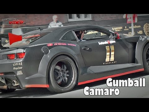 Listen to Jens Byggmark´s Great Sounding Supercharged Camaro