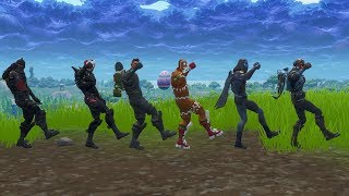 Fortnite Dances/ Emotes 100% Sync (In Game with 6 Players)