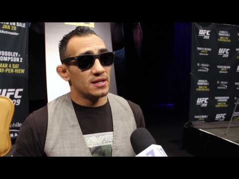 Tony Ferguson media scrum at UFC 209 onsale