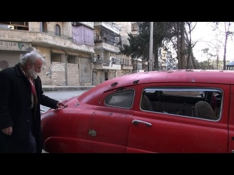 In rebel-held Aleppo, Abu Omar clings to his collection of cars on YouTube