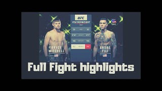 UFC Bryce Mitchell vs Andre Fili ( Full Figh Highlights )
