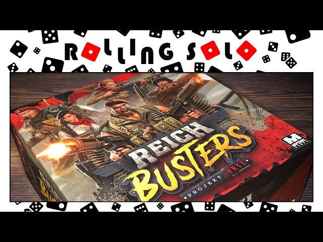 Reichbusters: Projekt Vril | Core Box, 3D Doors & Sergeant Sally | Unboxing