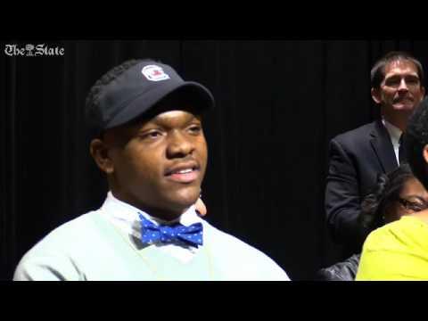 Brad Johnson plays trick on telling Muschamp his pick