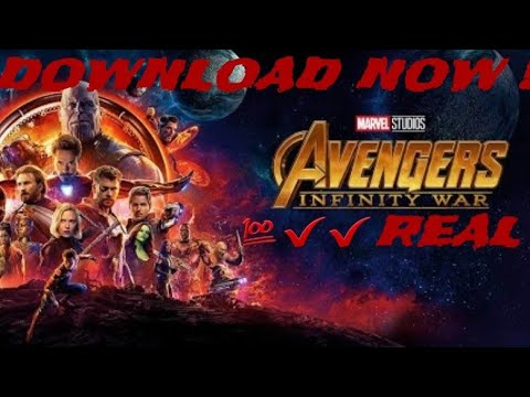 HOW TO DOWNLOAD MARVEL'S INFINITY WAR ||NO FAKE||💯✔️REAL