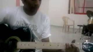 saari umar hum- give me some sunshine- 3 idiots- GUITAR
