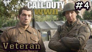 "Call of Duty WW2 - Mission 4: S.O.E ""Veteran Mode"" Walkthrough (1080p 60FPS)"