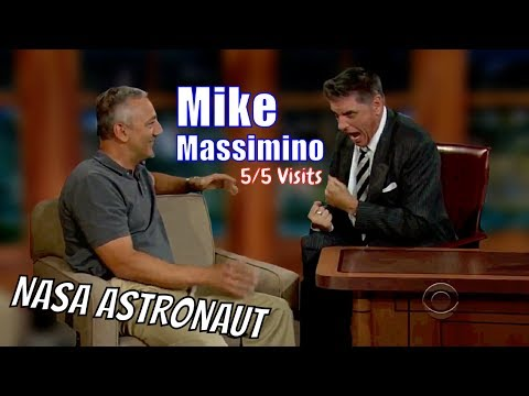 Mike Massimino - An Actual Astronaut With Good Humor - 5/5 Visits In Chronological Order