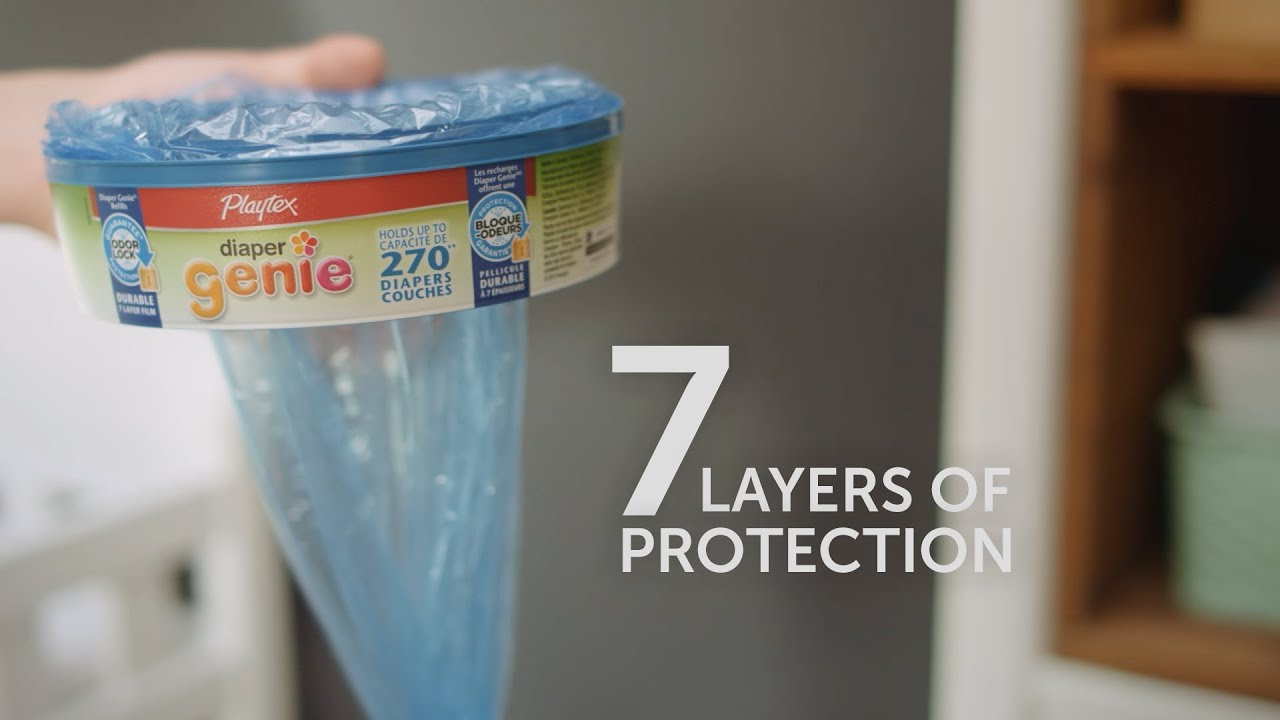 Playtex Diaper Genie Refills 7 Layers Of Protection