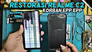 Restorasi HP Realme C2 Korban Free Fire +62